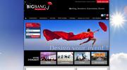 Aperçu du site BigBang Incentive